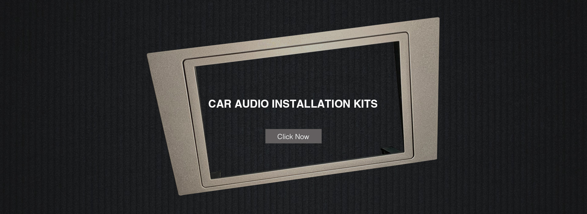 Car Audio Installation Kits