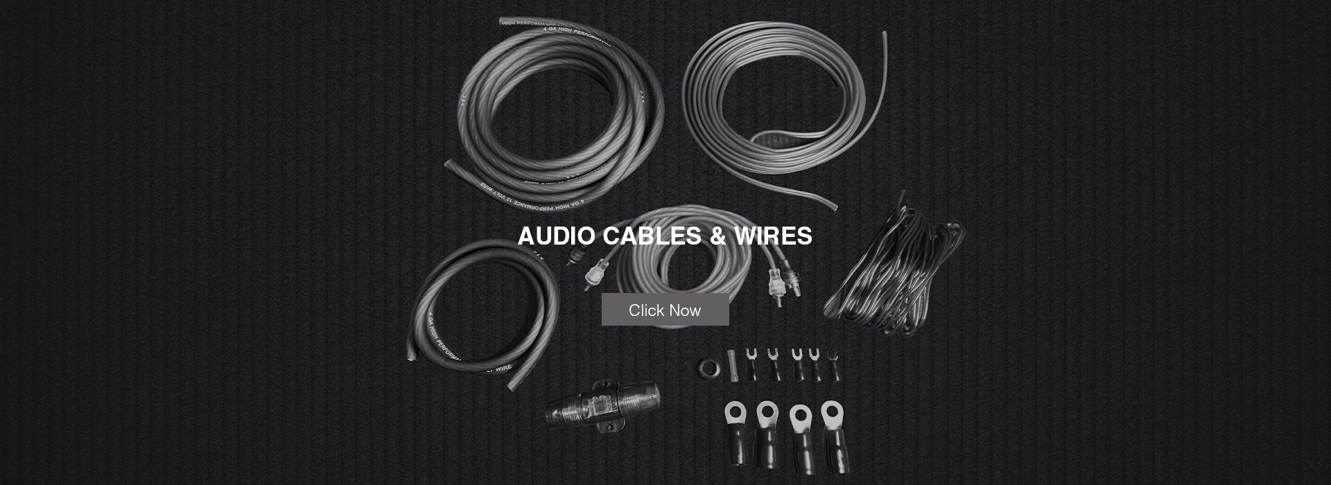 Audio Cables and Wires