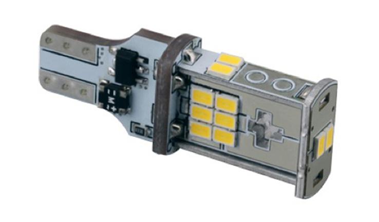 Car LED Bulb of T15/W16W DC10-30V 495LM 0.348A 4.2W