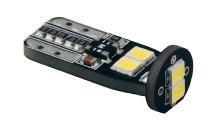 Car LED Bulb of  T10 DC12V 165LM 0.176A 2.1W