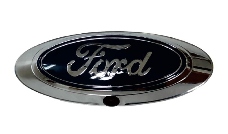 Car Camera .Ford OEM baseplate and emblem for a factory fit and finish,25'PRELOOMED wiring harness - allows for quick tailgate