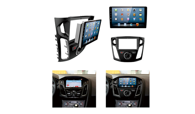 Facial Panel Ford Focus 2012-2017(9 inch)