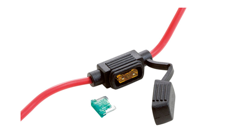 Fuse Holder with Wires