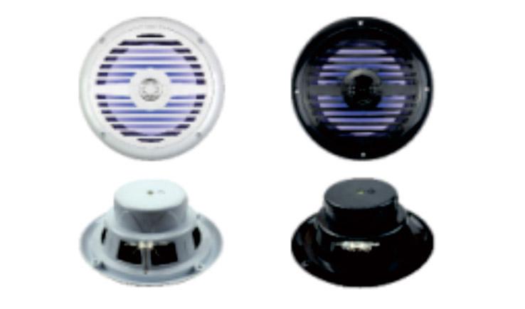 "Marine Audio 6.5""2-Way Marine Speaker With LED"