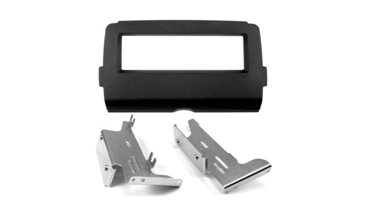 Motorcycle Audio Single DIN In Dash Kit for Select 2014-UP Harley-Davidson
