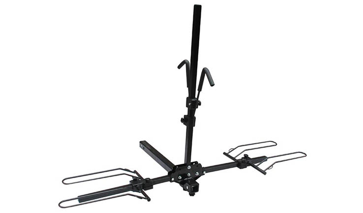 Car Roof Luggage Rack of Hitch mount 2 bikes rack/carrier