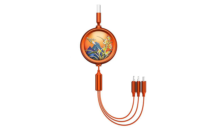 Date Charging Cable 3-in-1 Cable date transmit and charging cable