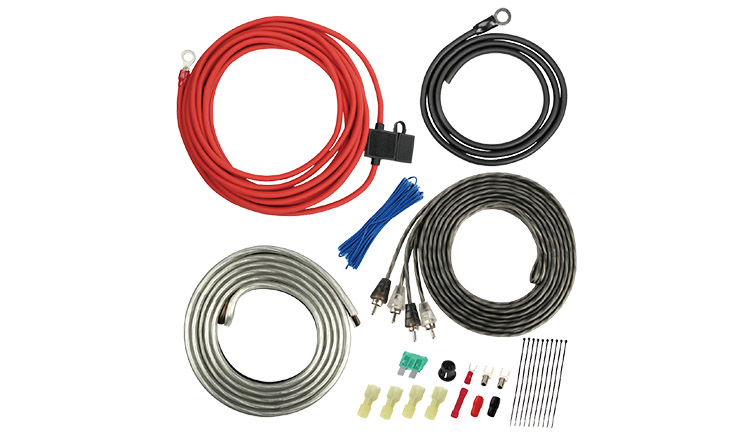 Amplifier Wiring Kits 10AWG