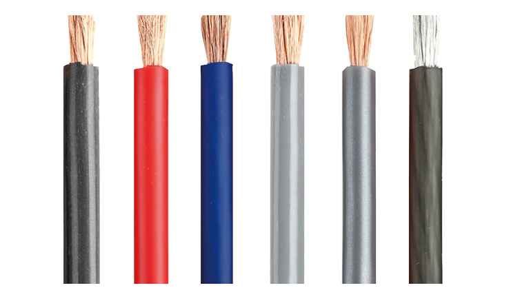 Power Cable 8AWG Power Cable 8.31mm2 OD:6.5mm