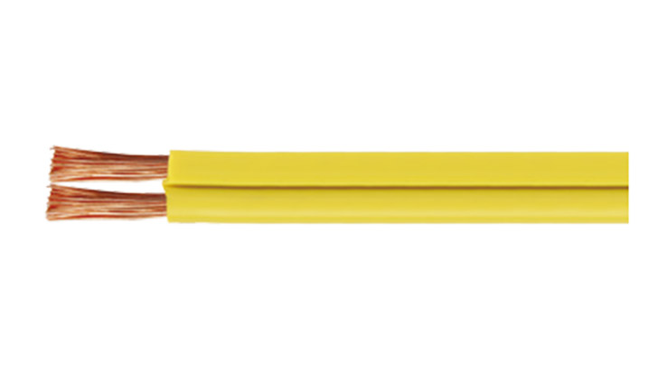 Speaker Cable 18AWG 2×0.55mm2 OD:2.5×5.0mm